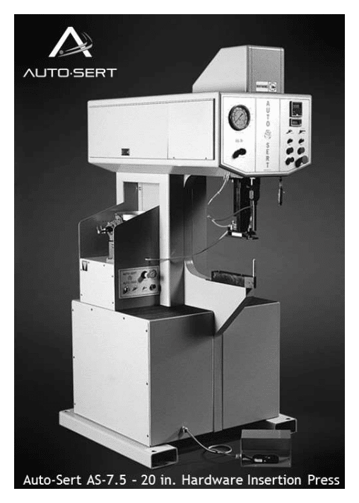 Auto-Sert AS 7.5 36 inch Hardware Insertion Press